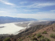 Our parting shot of Death Valley, the view from Dante's Peak, more than 5,000 feet above Badwater Basin.