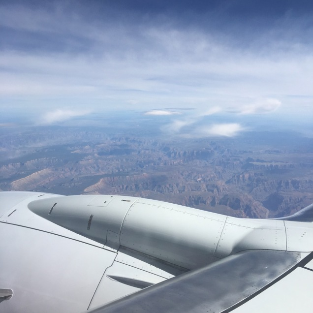 LAS > ORD: Until next time, Grand Canyon.