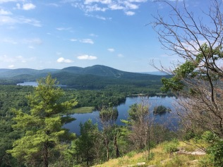 There are lots of great hiking options around Bethel. This is from Buck's Ledge.