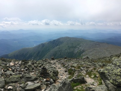 Mt. Washington is the highest peak in the Northeast. We got a ride to the top and hiked down via Tuckerman Ravine trail.