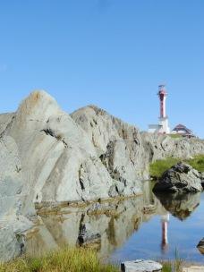 Cape Fourchu lighthouse near Yarmouth, Nova Scotia.