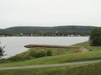 Annapolis Royal was once the capital of the British colony of Nova Scotia. This dock is the location from where many Acadians were deported after the French lost control of the colony.