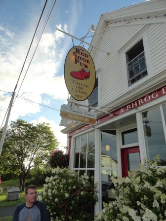 The Red Shoe Pub in Mabou offered us our first Ceilidh (pronounced: kay-lee) experience. A ceilidh is a social gathering accompanied by Gaelic folk music and dancing.