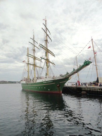 The waterfront of Halifax was full of tall ships during our weekend visit.