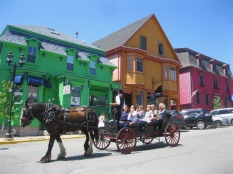 The colorful town of Lunenburg is located just an hour from Halifax.
