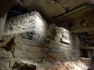 Montréal's Museum of Archaeology and History preserves foundations of buildings that are now under the modern city.