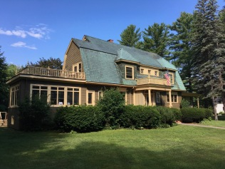 The Bingham House, our lodging for a week with family in Bethel, Maine.