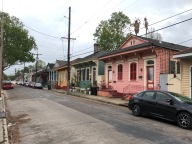 Bywater is full of colorful houses. The color combinations are endless.