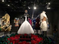 The New Orleans Museum of Art in City Park had a special exhibit on modern fashion inspired by Queens.