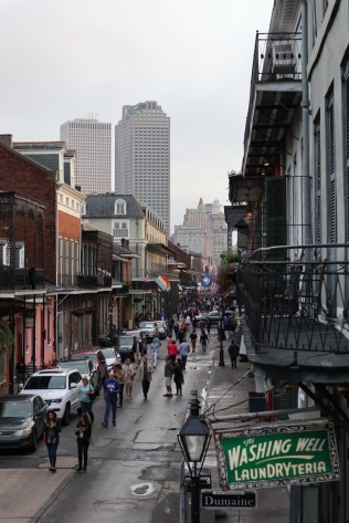 Bourbon Street is pretty gross, but if you're lucky enough to snag a 2nd floor balcony table with a view it's fantastic.