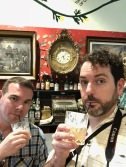 You can't visit a cocktail museum and not participate.