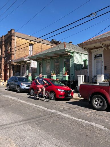 Our Airbnb provided bikes for our enjoyment. We didn't use them until our final morning in town, but it was another great way to explore the neighborhood.