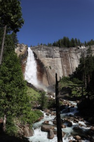 The 594 ft Nevada Falls.