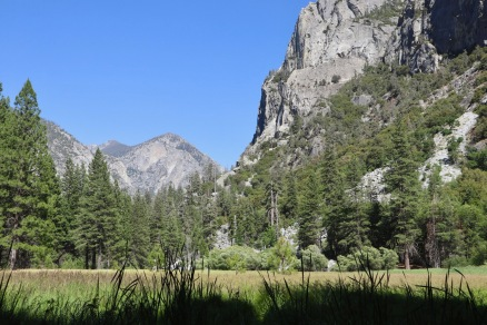 Zumwalt Meadow in Kings Canyon National Park. An easy 1.5 mile loop trail leads through it.