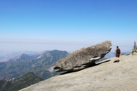 Hanging Rock overlooks the southern foothills of Sequoia.