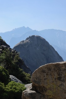 Moro Rock as seen from Hanging Rock.