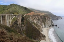 We spent the night in Pacific Grove and took a quick spin down California Highway 1 to see the Bixby Creek Bridge.