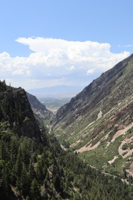 Visiting Timpanogos Cave National Monument outside Salt Lake City requires a 1,000 ft climb up the side of this valley.