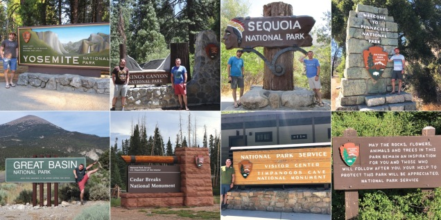 We've now been to 51 of the 59 (or 60) National Parks, including all in the Continental US. Here are our 5 latest park additions along with two National Monuments.
