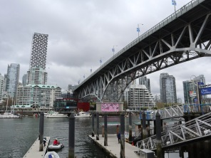 Headed to Granville Island for lunch and some shopping and drinking.