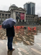 The Vancouver Art Gallery was a perfect rainy day activity.