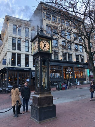 The Gastown Steam Clock is not as old as it looks. Built in 1977.