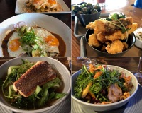 Some of the food we enjoyed on the Sunshine Coast. Our favorite restaurants there were Lunitas Mexican, Drift Cafe, Wobbly Canoe, and The Basted Baker.