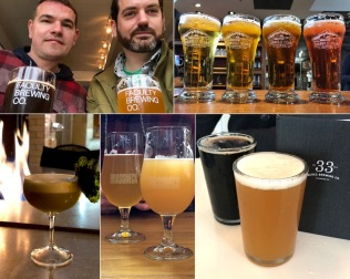 There's a brewery on every corner in Vancouver. We visited Granville Island, 33 Acres, Faculty, Brassneck, Luppolo and Strange Fellows.