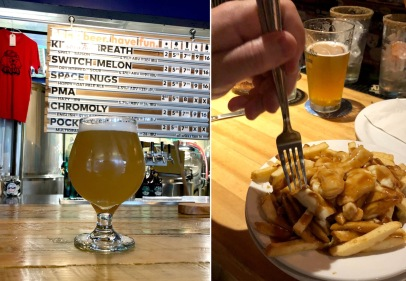 We headed west to Revelstoke for a few days. Our favorite brewery was Rumpus and the poutine at Village Idiot was perfect.