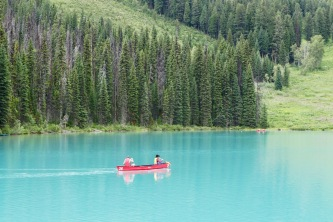 Emerald Lake in Yoho... The color of this photo is not enhanced.