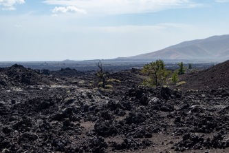 Lava as far as the eye can see.