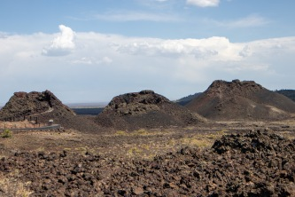 Spatter cones at Craters of the Moon.