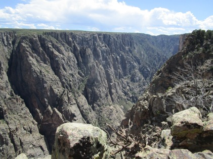 We've previously visited the more-popular South Rim at Black Canyon, but went to the remote North Rim this time.