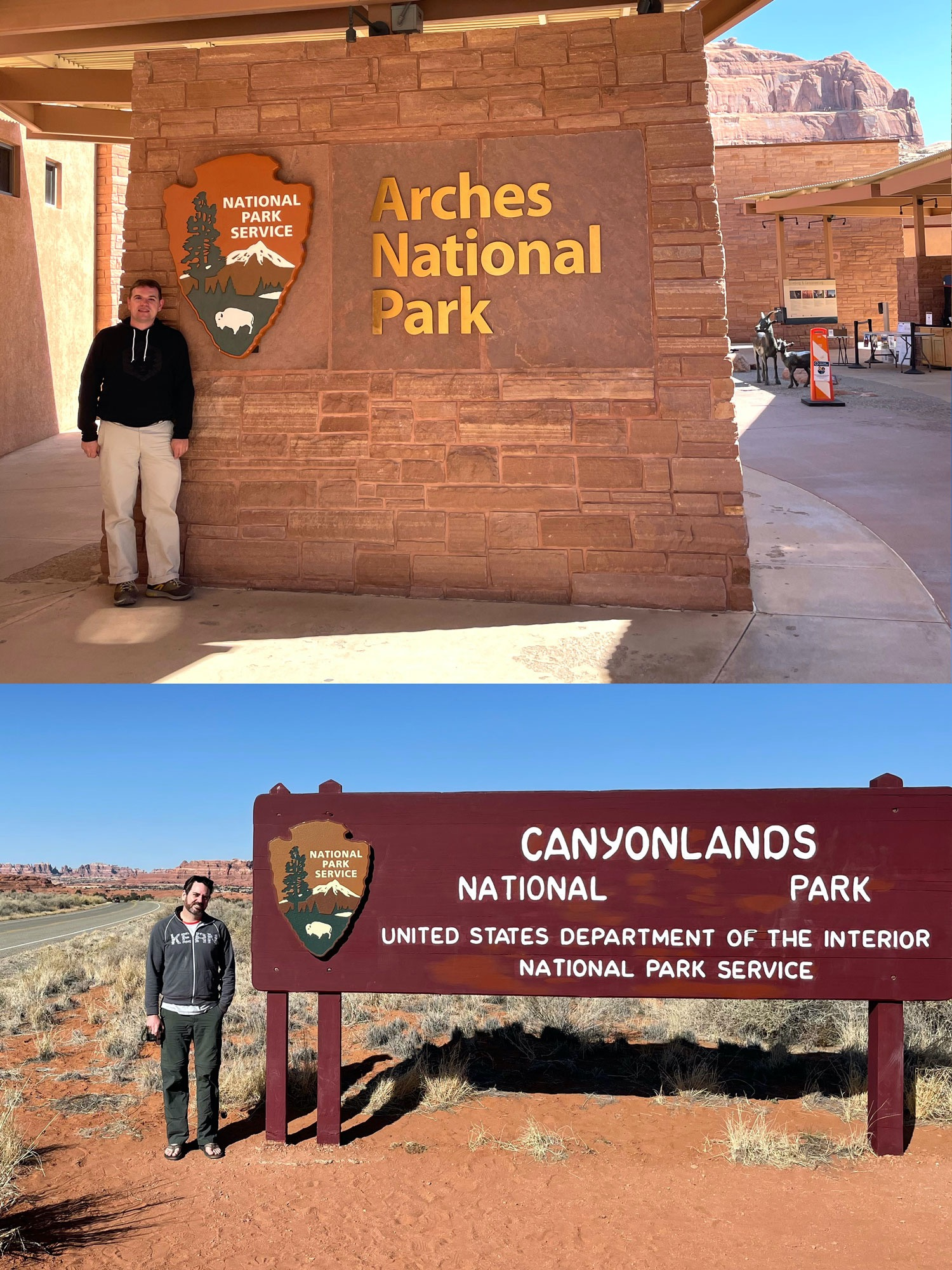 National Parks Signs